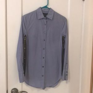 Jcrew tonic fit button down shirt with side detail